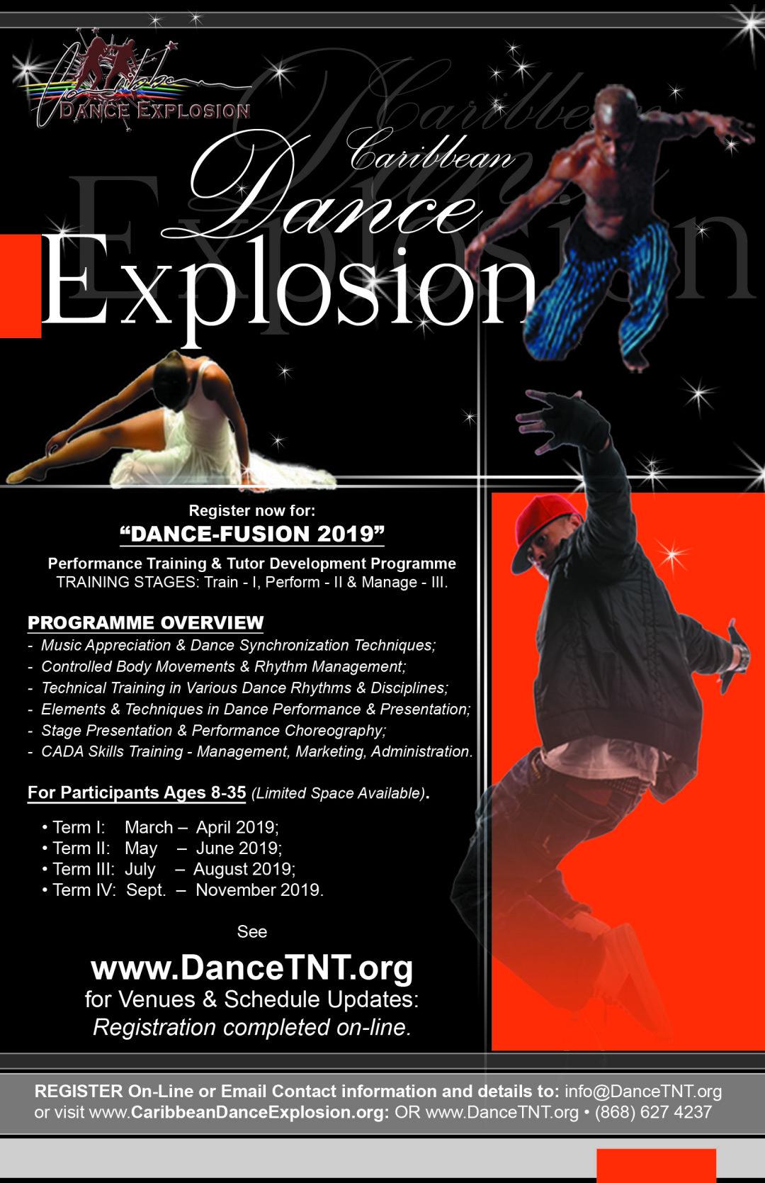 Register for Dance Fusion